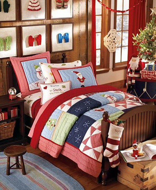 10 budget friendly tips on getting your home ready for the holidays - Christmas Bedroom Decor Ideas