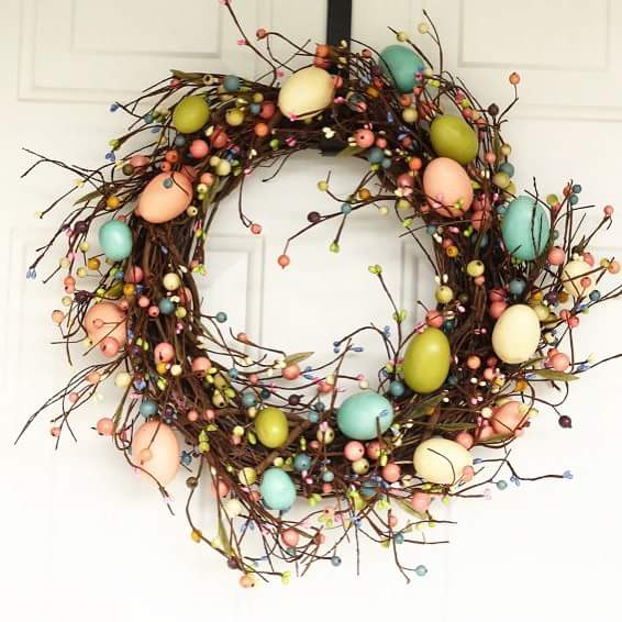 DIY Idea Of Wreath Designing