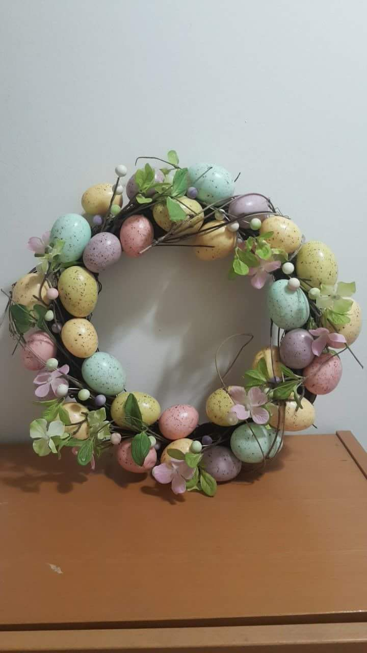 Egg Wreath Craft