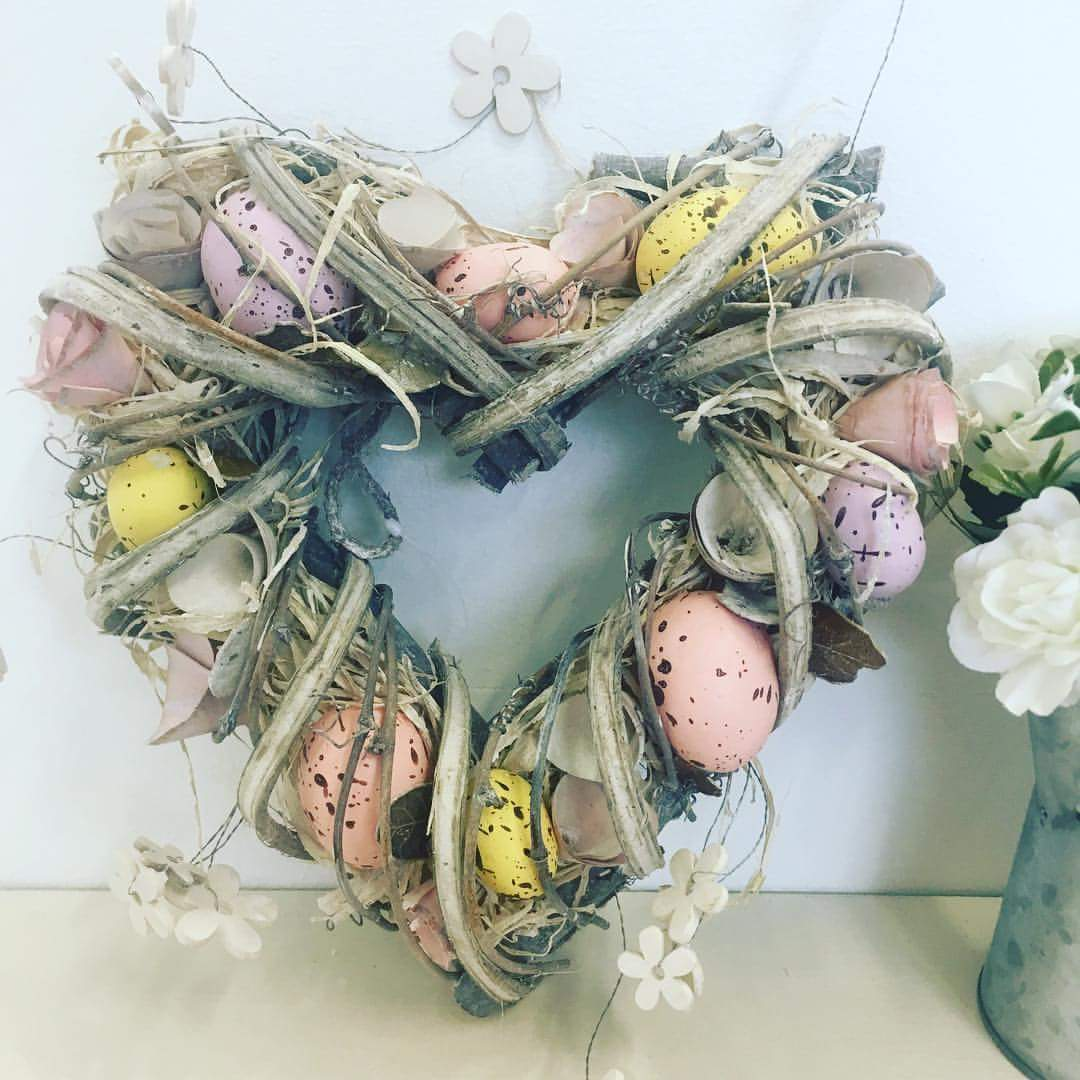 Heart Wreath Design