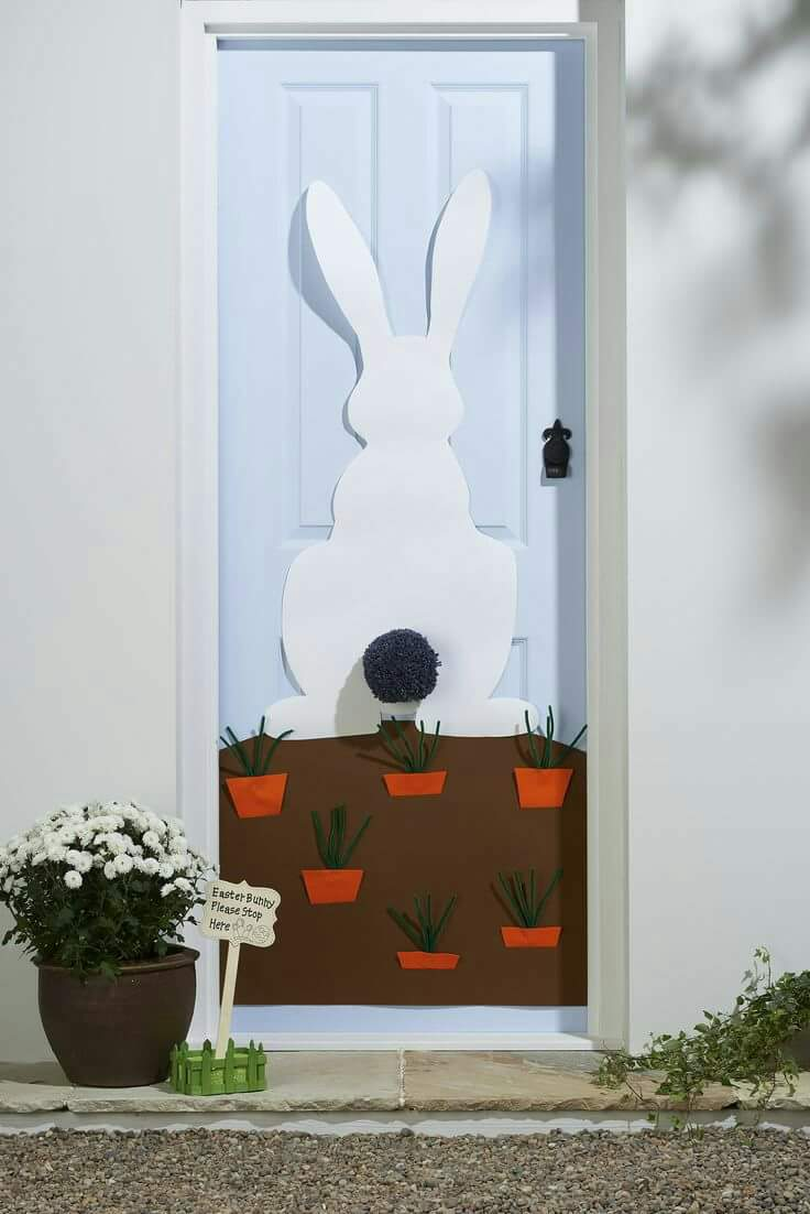 Paper Cutting Art For Decorating Door