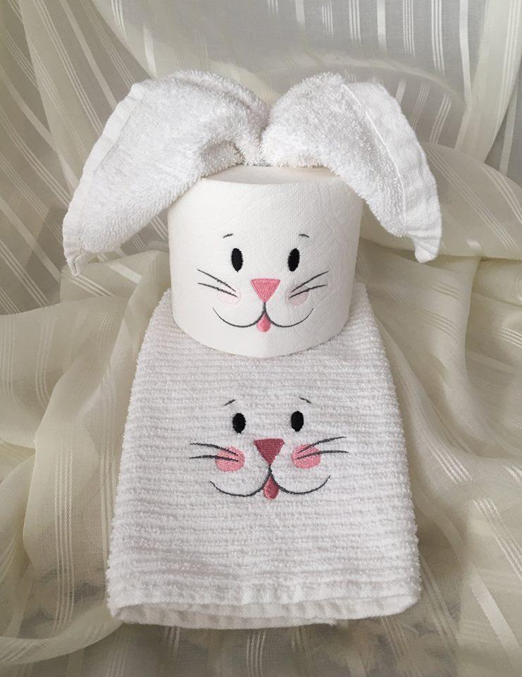 Bathroom Decorating Idea for Easter