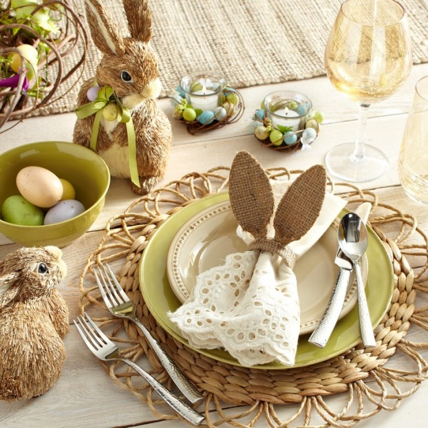 Beautiful Easter Table Decoration Ideas