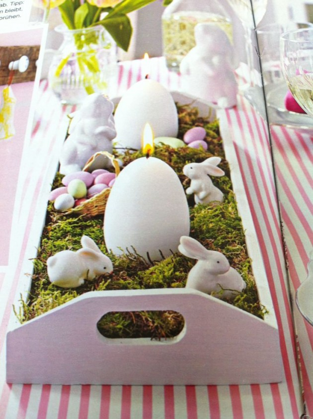 Beautiful Easter Table Decoration