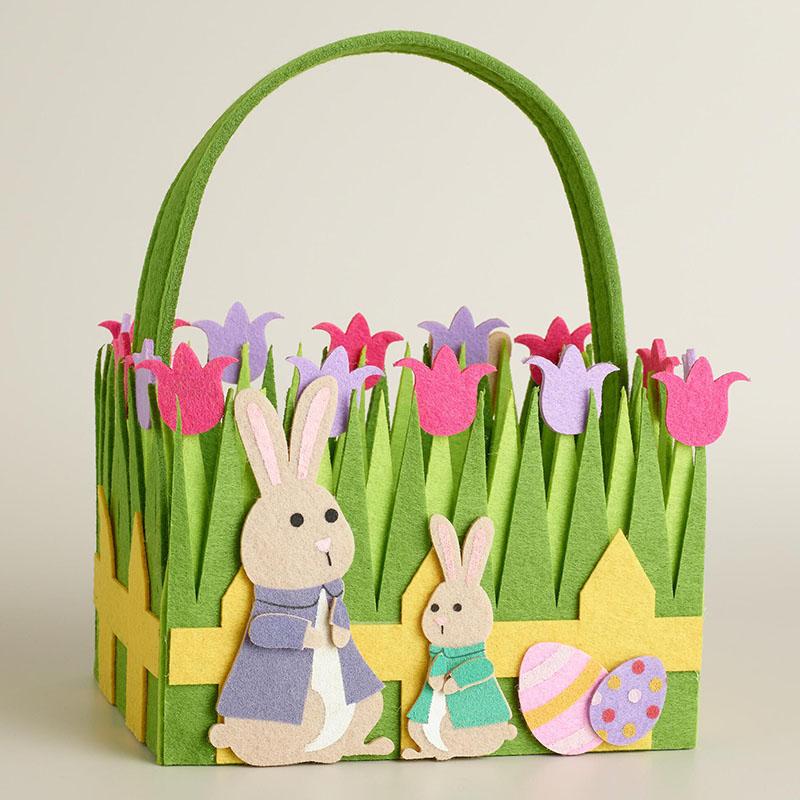 Bunny Family Easter Basket
