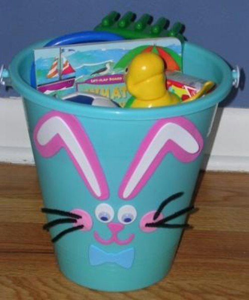 Best 40 creative easter basket ideas for kids bunny pail easter baskets negle Gallery