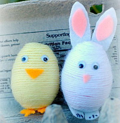 Bunny and Chick Shakers