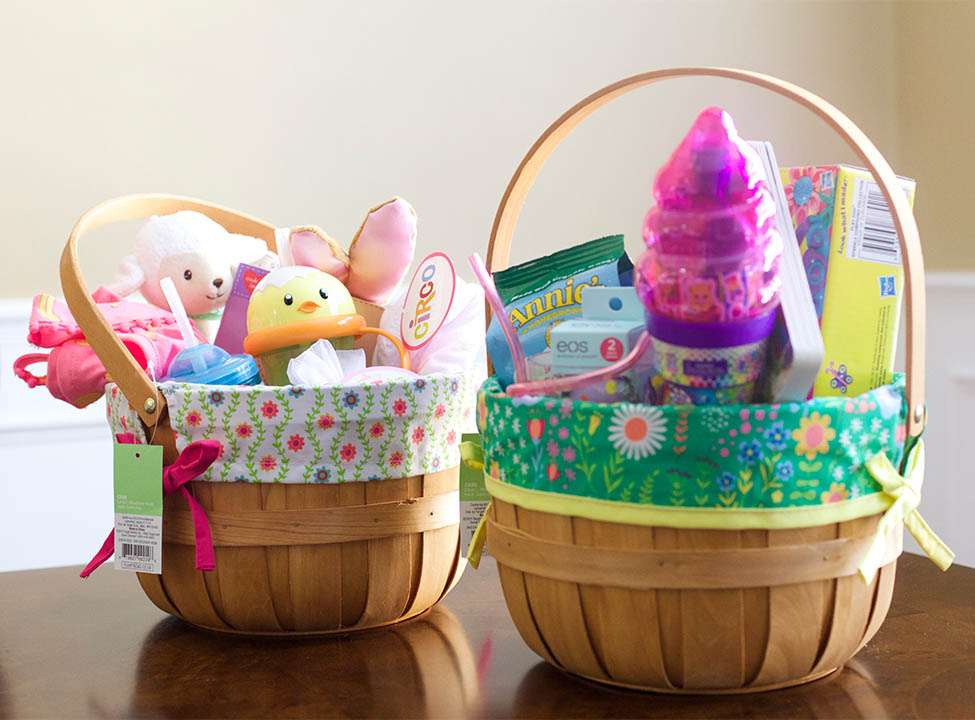 Best 40 creative easter basket ideas for kids candy less easter basket negle Gallery