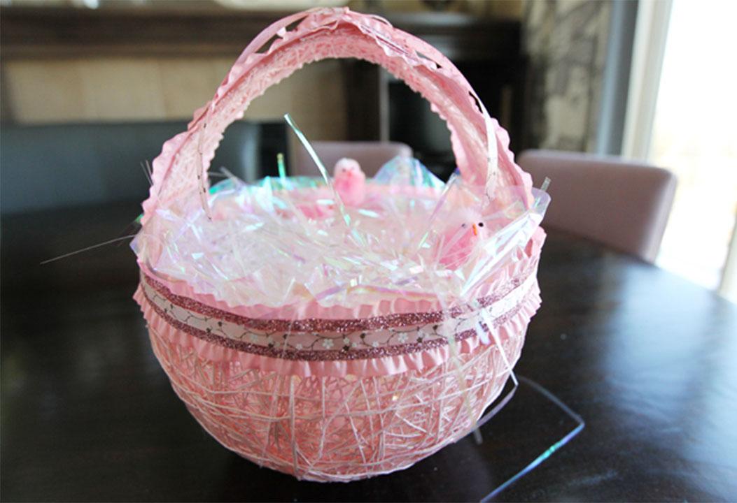 DIY Easter Egg Basket