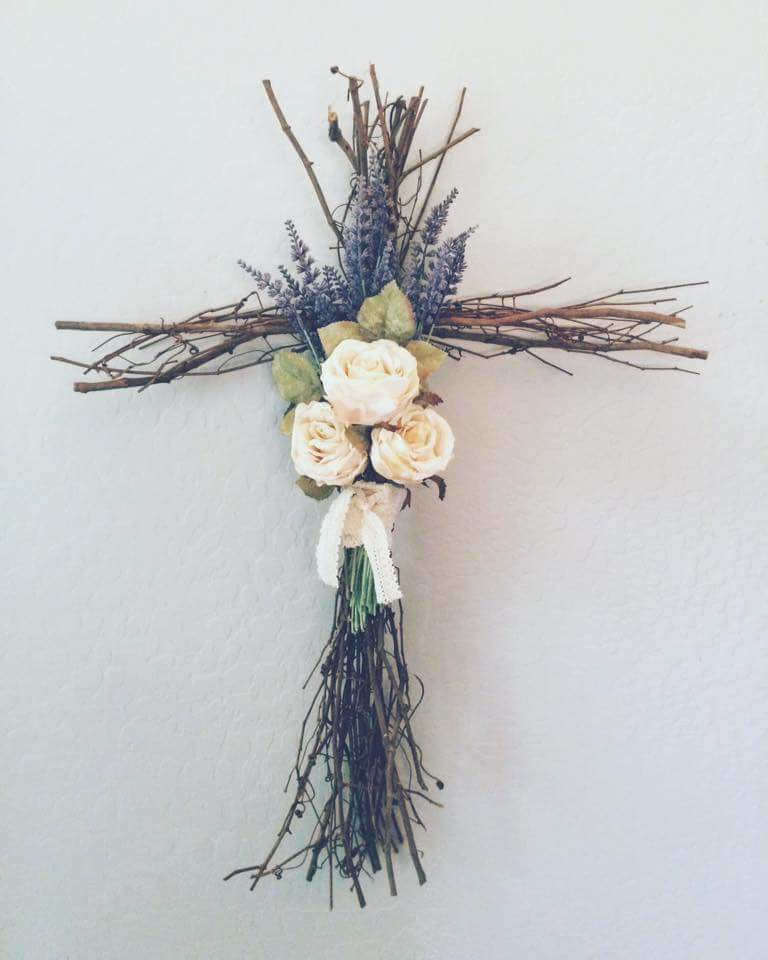 Dried Branches Cross
