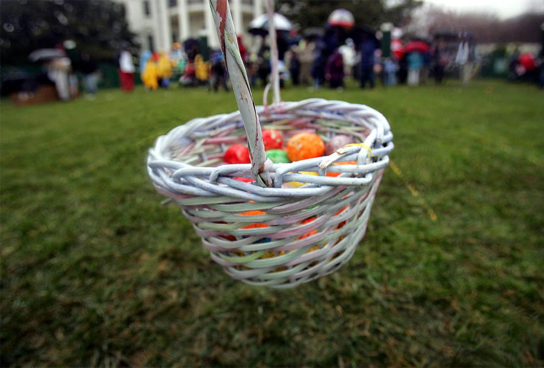 Easter Basket for Treasure Hunt
