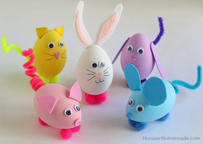 Easter Eggs Craft Ideas Crafting