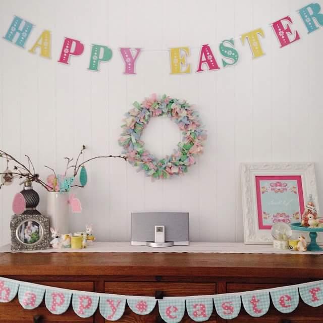 Easter Letter Decoration
