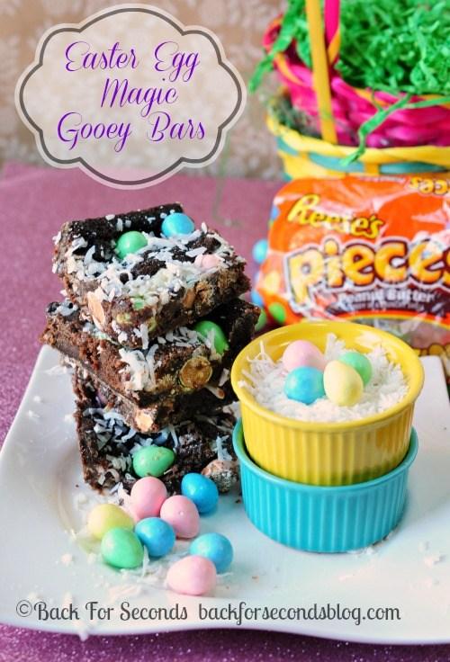 Easter Magic Gooey Bars