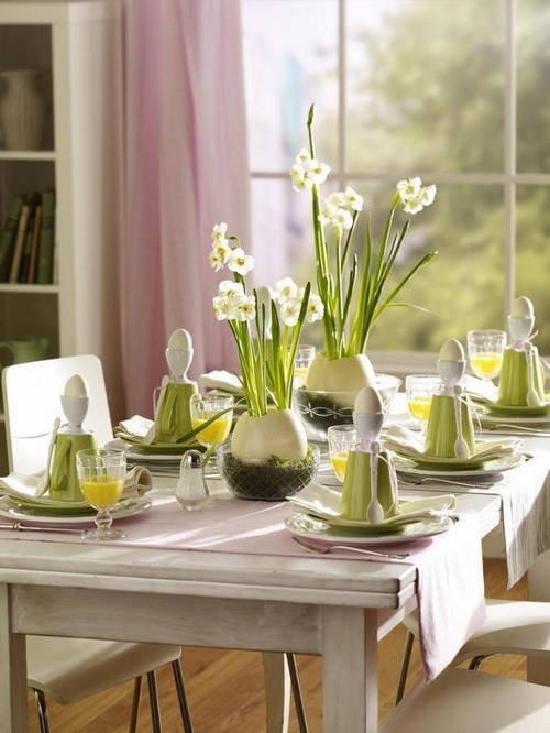 Easter Table Decorations 2018