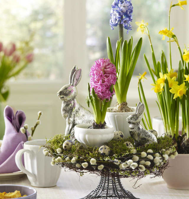 Easter Table Decorations Idea