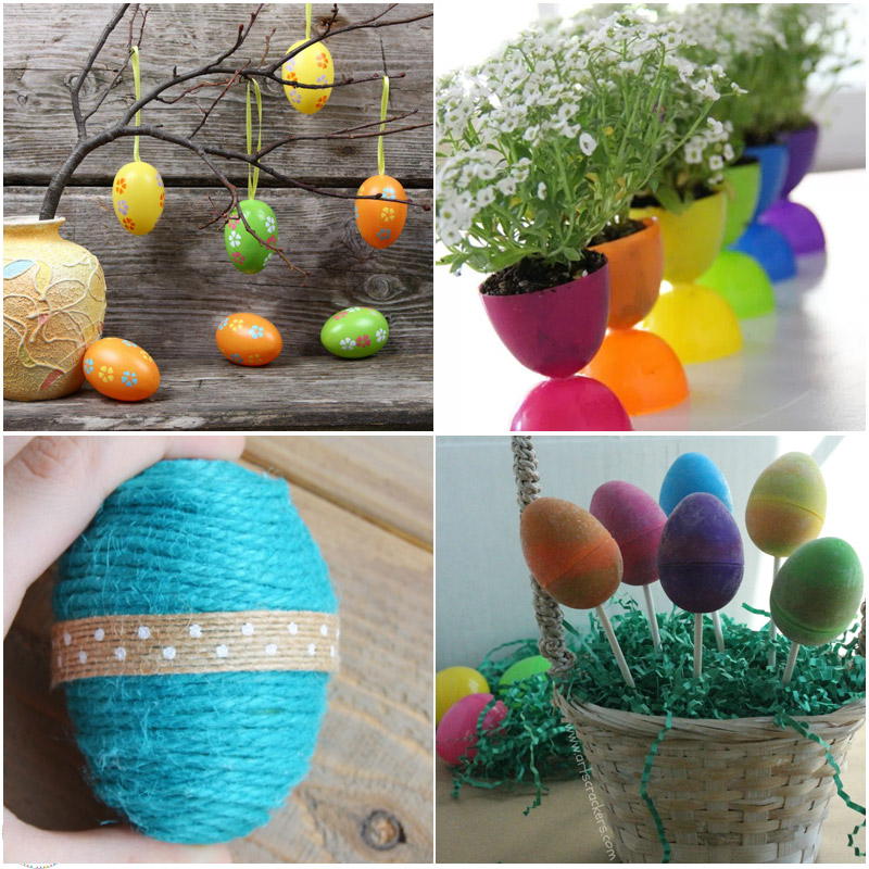 Easy Egg Necklaces