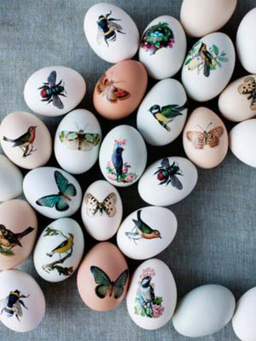 Exquisitely Decorated Easter Eggs