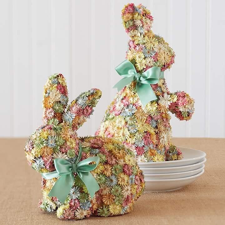 Floral Crafty Bunny