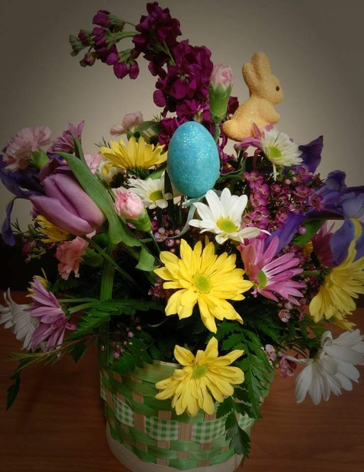 Flowers For Easter Vase