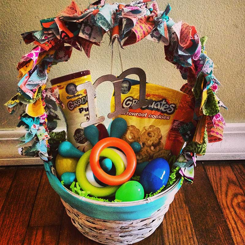 Fun Easter Basket for Toddlers