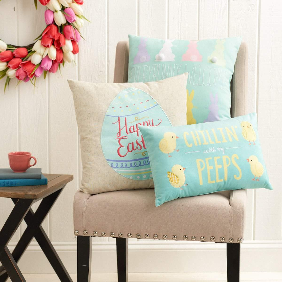 Happy Easter Cushion Covers