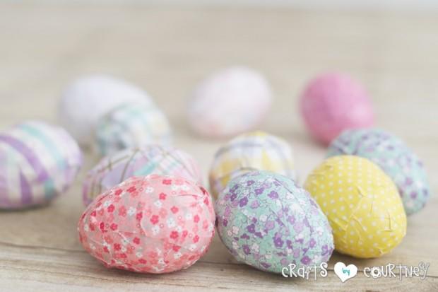 Mod Podge Easter Egg Craft