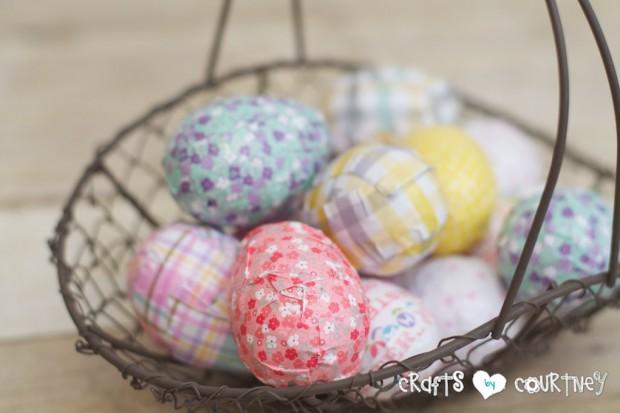 Mod Podge Easter Egg Decor