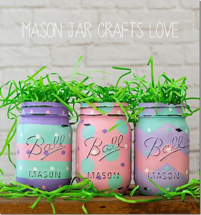 Paint some mason jars