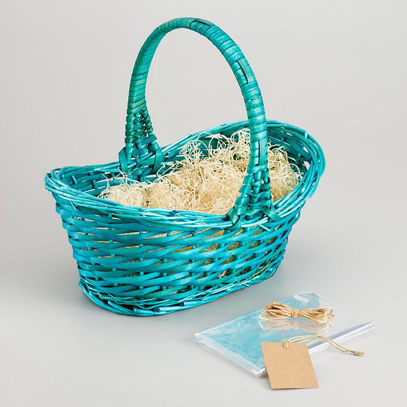 Painted Easter Basket