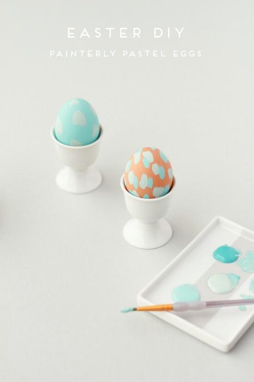Painterly Easter Eggs