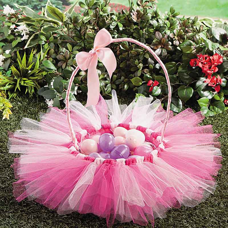 Pretty Easter Basket for Girls