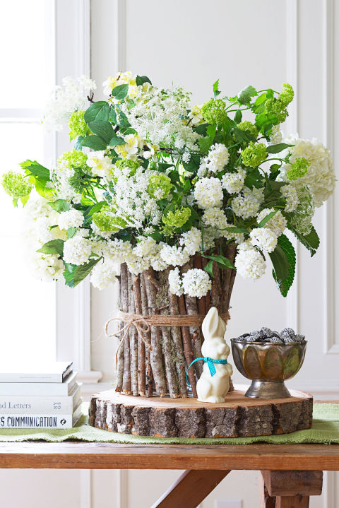 Queen Anne's Lace and Hydrangeas