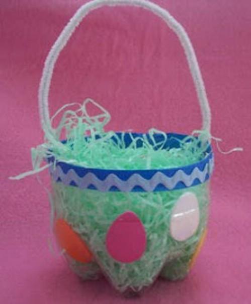 Soda Bottle Easter Baskets