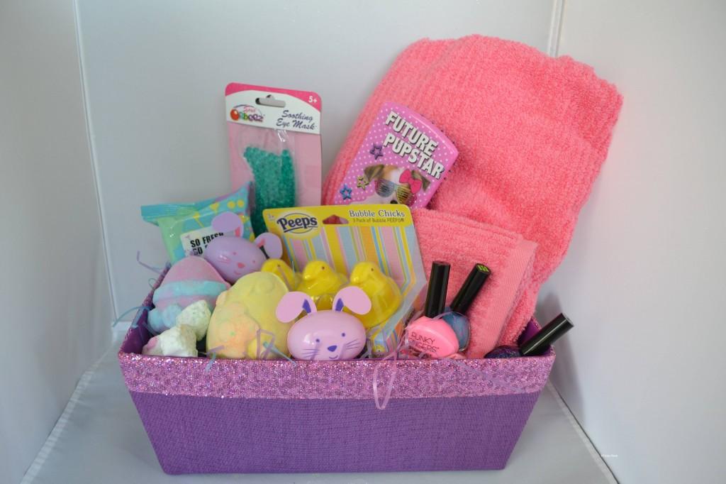 Spa-Theme Easter Basket Gift