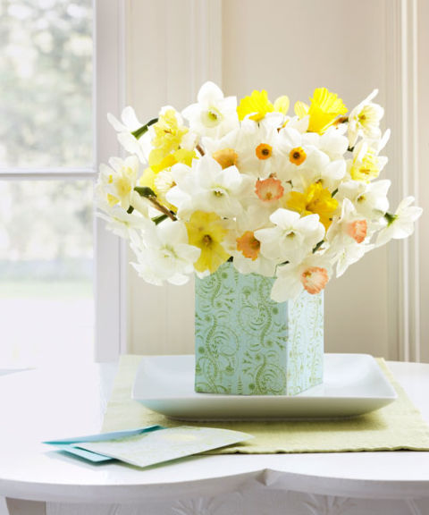 Square Daffodil Bouquet