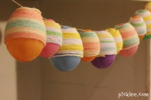 Yarn Wrapped Garland