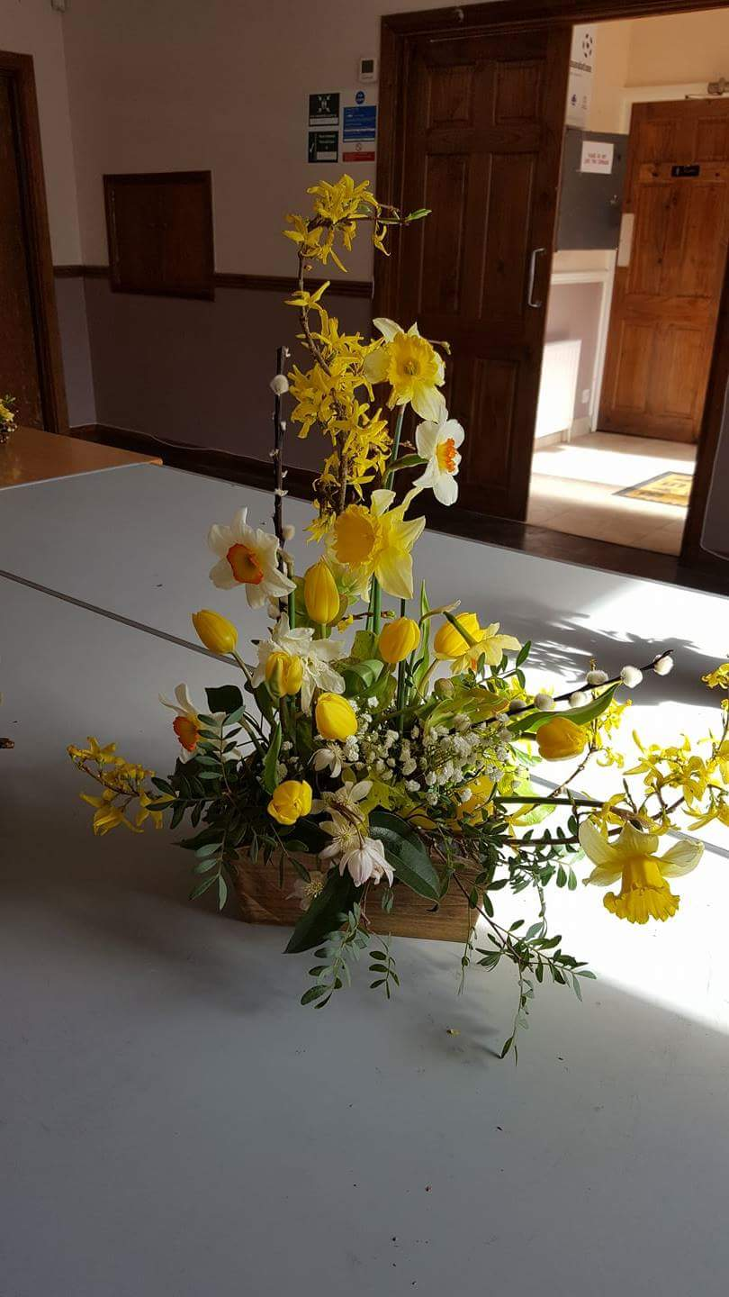 Yellow Flowers For Easter