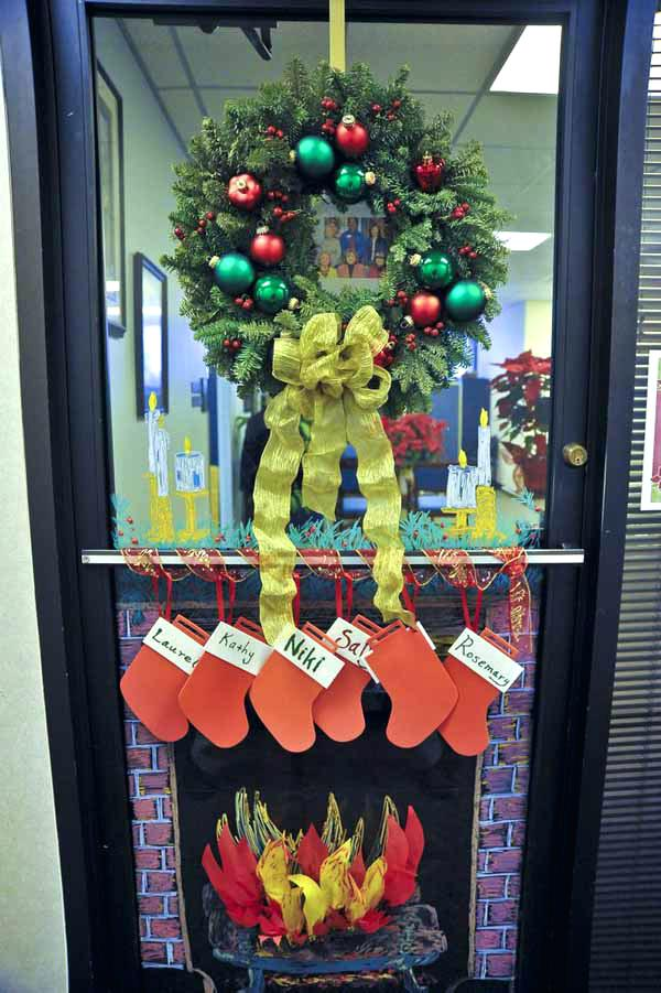 Christmas Office Decoration Ideas Best Decorations