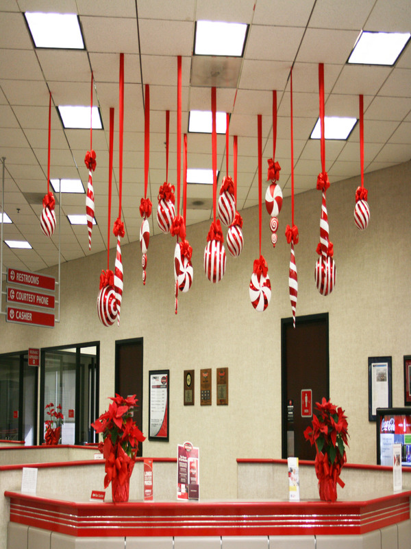 Decor office ideas Diy office decoration ideas Candy Cane Detectview 60 Gorgeous Office Christmas Decorating Ideas u003e Detectview