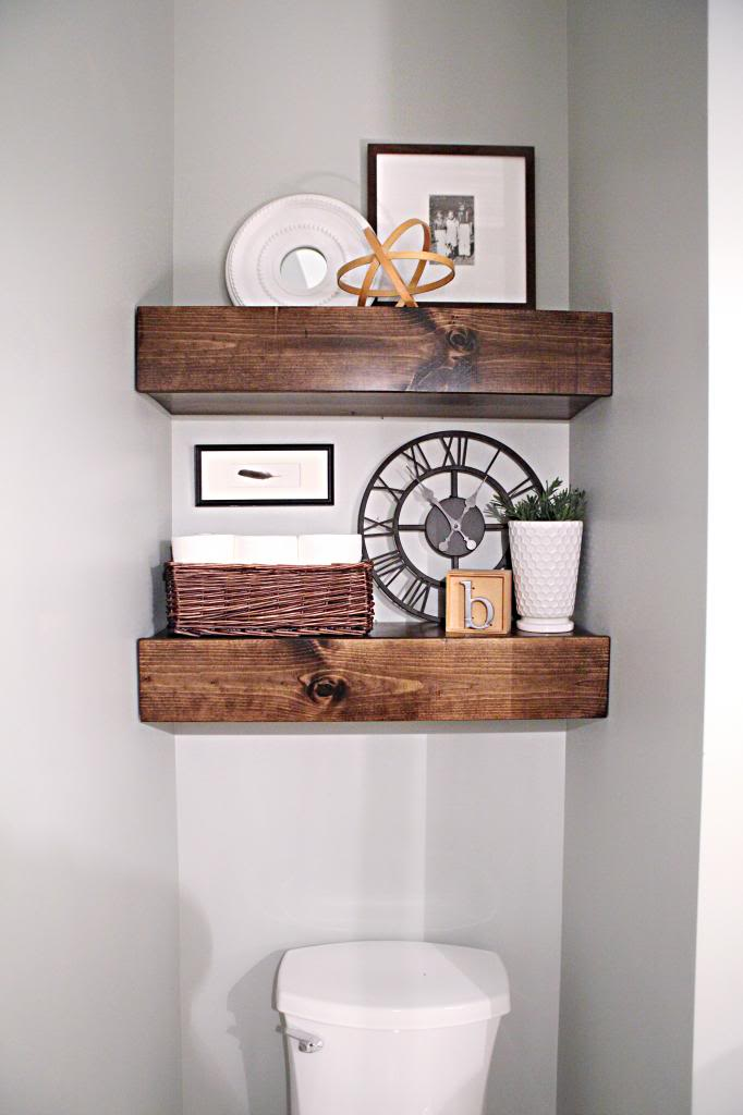 40 Beautiful Diy Bathroom Shelves Ideas Detectview