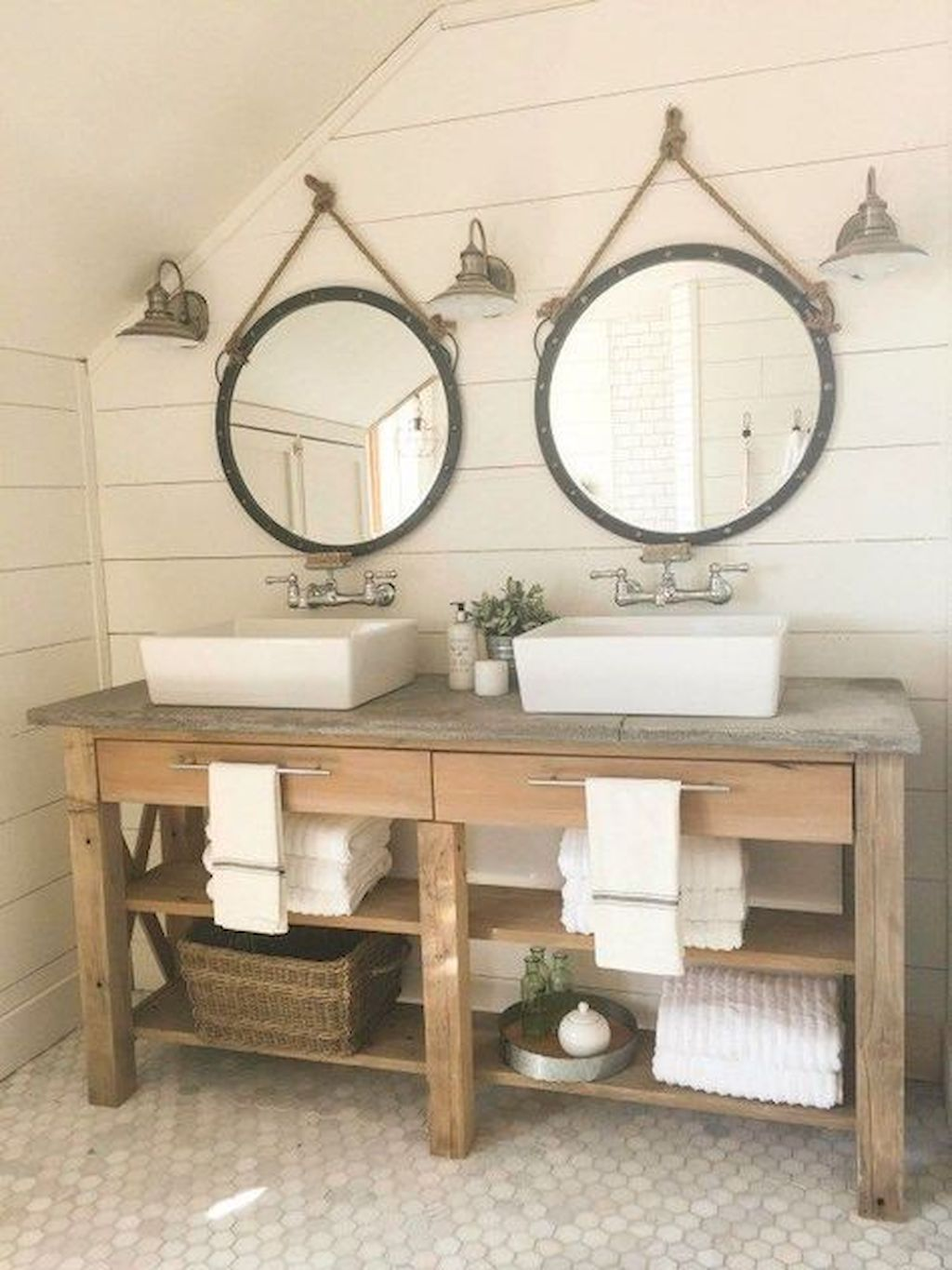 50 Relaxing Rustic Style Bathroom Ideas > Detectview