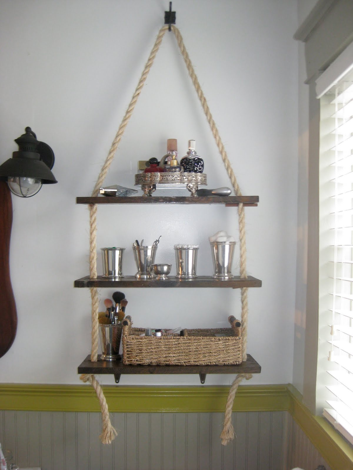 40 Beautiful DIY Bathroom Shelves Ideas > Detectview
