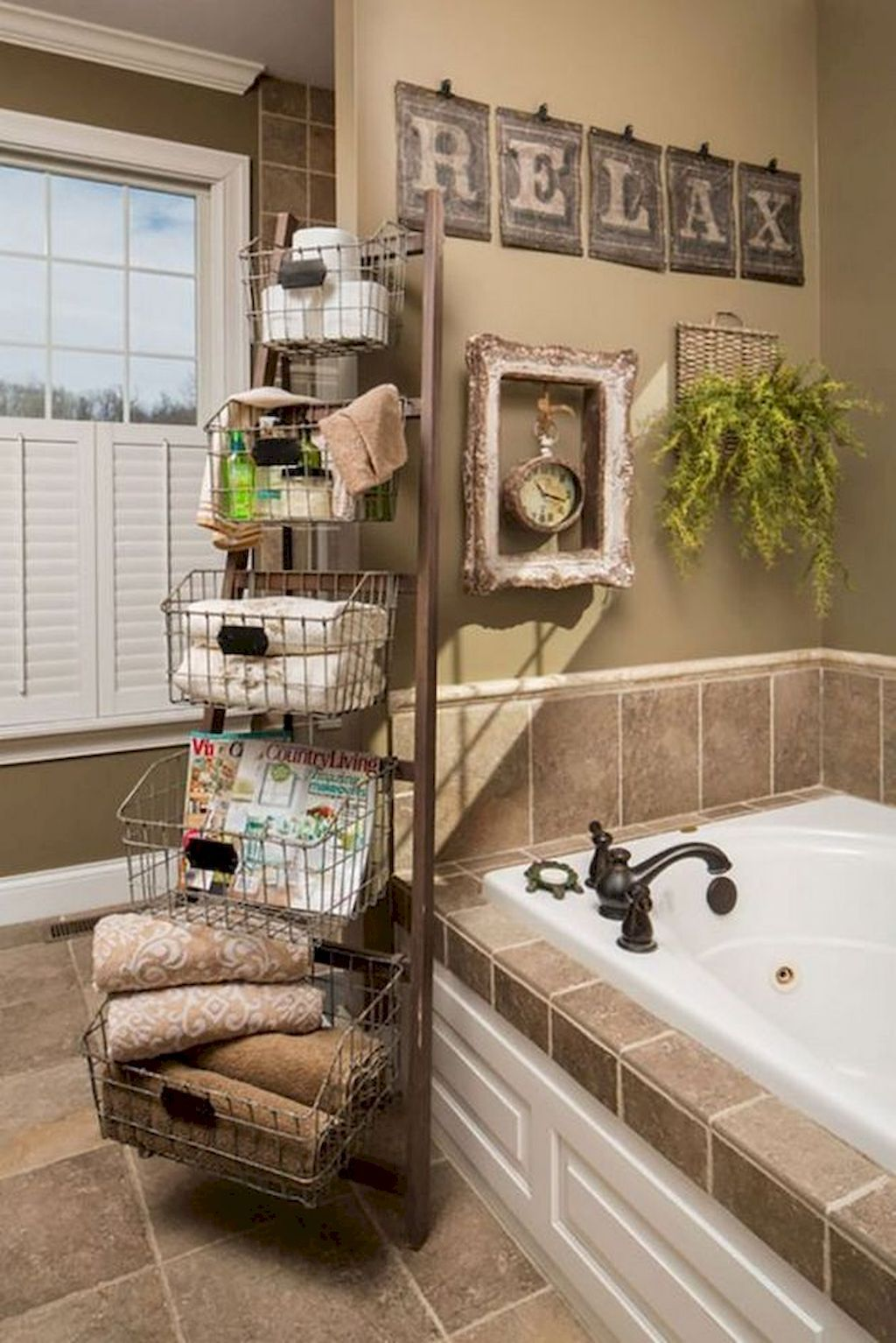 50 Relaxing Rustic Style Bathroom Ideas Detectview