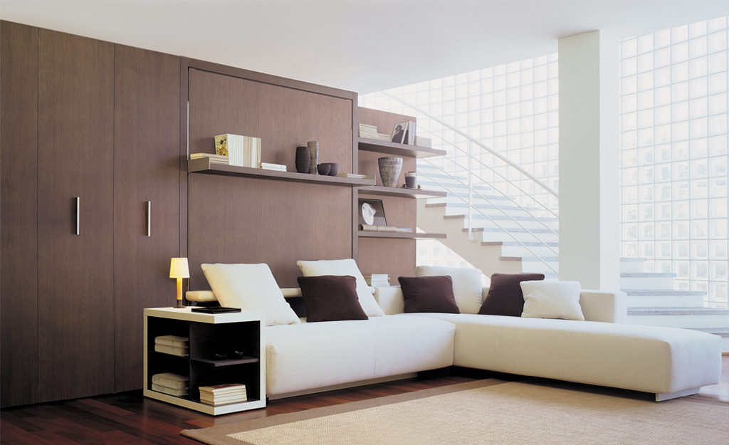Murphy Bed With Sofa Combo Throughout Atoll 202 Resource Furniture Wall Beds