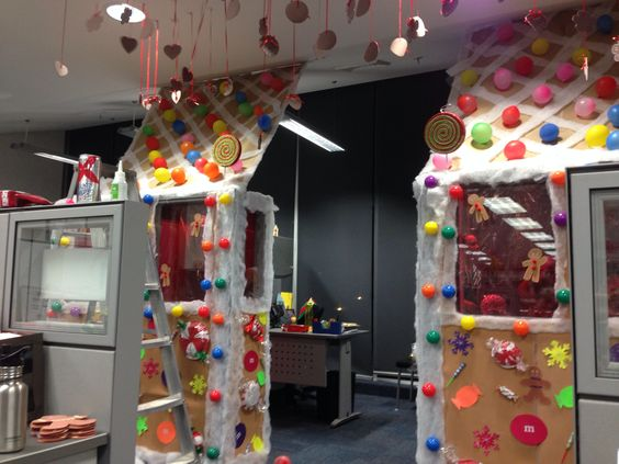 Office Christmas Decoration Competition