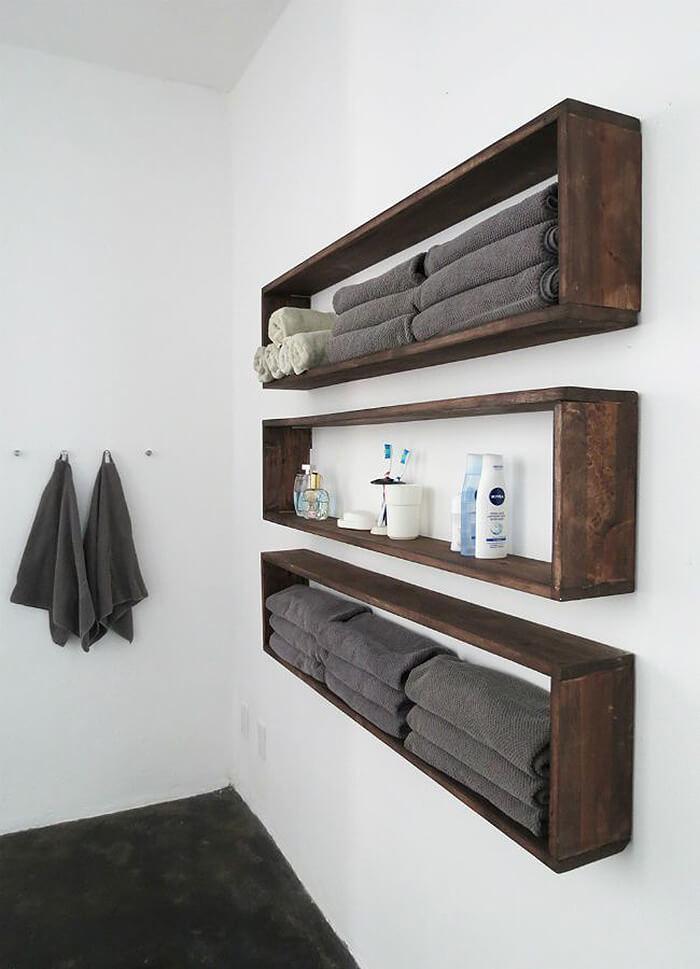 40 Beautiful Diy Bathroom Shelves Ideas Gt Detectview