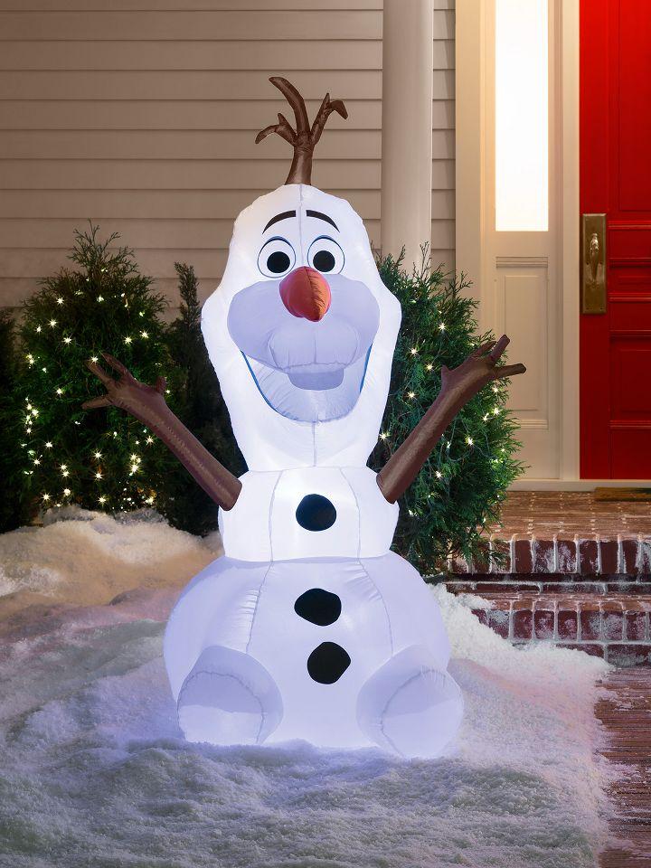 Charming Idea Outdoor Christmas Snowman Decorations Lighted - 25 Outdoor Christmas Decorating Ideas > Detectview