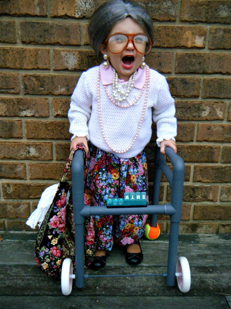Granny.  sc 1 st  Detectview & 30 Unbelievably Cute Charming and Captivating Halloween Costumes ...
