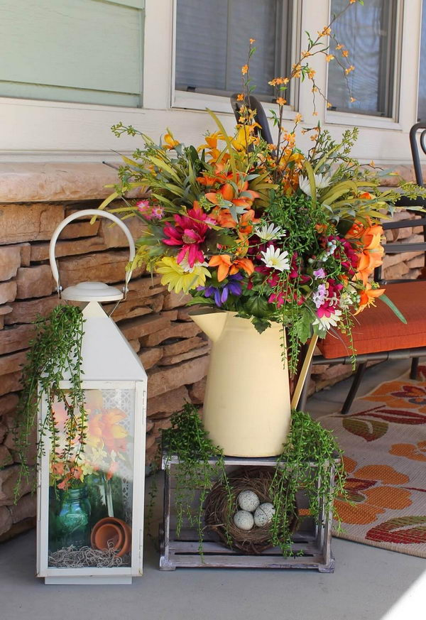 Easter Outdoor Decor Ideas Which Will Add A Cheerful Vibe